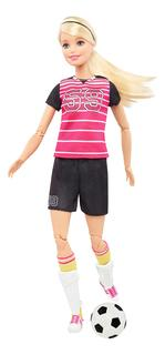 Кукла Barbie футболистка - Блондинка DVF69 DVF68