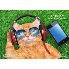 Альбом (40л 140 г/м Евроспираль) Меломан, АСКЛ401937 Unnika Land