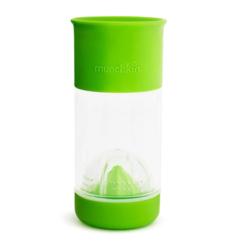 Munchkin поильник 360° для фруктовой воды с инфузером 414мл. зеленый от 4 лет