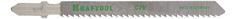 Пилка по дереву для лобзика Kraftool 159516-2.5-S5