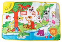 Развивающий коврик Shantou Gepai Веселый зоопарк (свет, звук)