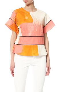 Блуза женская DKNY бежевая L