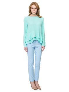 Блуза женская Baon голубая S