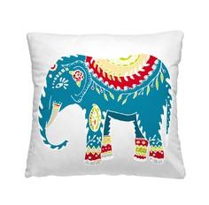 Подушка-думка 40/40 Индийский слон Волшебная ночь
