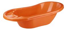Ванночка пластиковая Альтернатива Карапуз оранжевый Alternativa