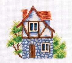 Набор для вышивания РТ-MBE9007 Мой милый дом 12,5х11 см РТО