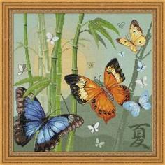 """Набор для вышивания арт.СС-1336 """"Бабочки"""" 35х35 см Риолис"""