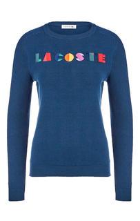 Джемпер женский Lacoste синий 50