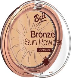 Пудра бронзирующая с пантенолом BELL Bronze Sun Powder Panthenol, тон 23 Бежевый