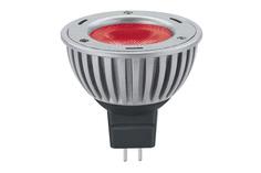 Лампа LED Свеча 3W GU5,3 40° Красный 28058 Paulmann