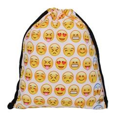 Сумка-мешок для сменной обуви Homsu Emojis