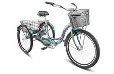 "Велосипед STELS Energy III V030 2018 16"" зеленый"