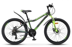 "Велосипед STELS Navigator 450 MD V020 2019 17.5"" черный"