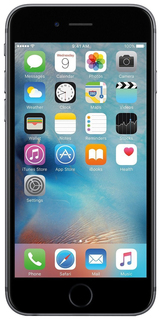 Смартфон Apple iPhone 6s 16Gb Space Gray (FKQJ2RU/A) восстановленный