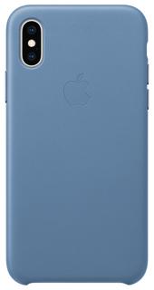 Оригинальный чехол Apple для смартфона MVFP2ZM/A iPhone XS Голубой