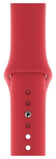 Ремешок для смарт-часов Apple Sport Band для Apple watch 40 mm red (MU9M2ZM/A)