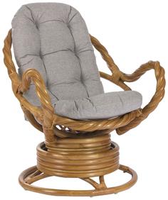 Кресло-качалка Мебель Импэкс MORAVIA с подушкой цвет Мёд