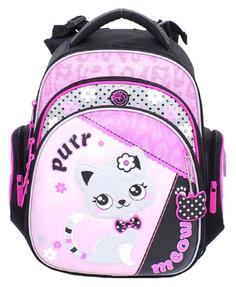 Ранец Purr Meow Hummingbird для девочек Розовый TK38