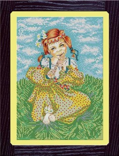 Наборы для вышивания бисером GALLA COLLECTION Л,302,ПАСТУШКА