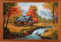 """Набор для вышивания арт.СС-1079 """"Осенний пейзаж"""" 38x26 см Риолис"""