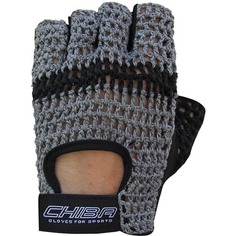 Перчатки для фитнеса мужские Chiba Athletes Choice, темно-серые, XL INT