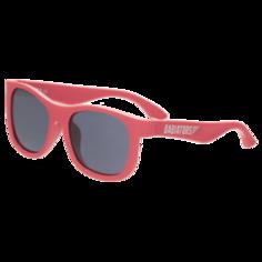 Детские солнцезащитные очки Babiators Original Navigator Красный качает Rockin Red 0-2
