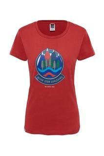 Футболка женская The North Face S/S NSE Series Tee T93K25 красная, размер L