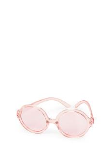 Солнцезащитные очки детские Happy Baby Pink круглые