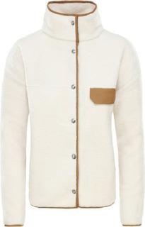 Куртка The North Face Cragmont Fleece женская белая M