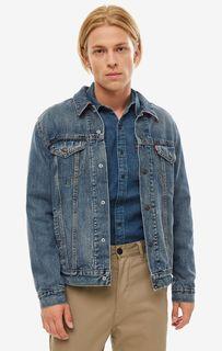 Джинсовая куртка мужская Levis 7289000030 синяя XL Levis®