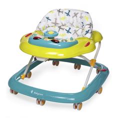 Ходунки детские Baby Care Pilot зеленые