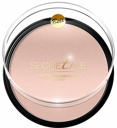 Пудра для лица и тела BELL Secretale Nude Skin Illuminating Powder, тон №01