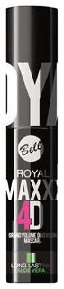 Тушь для ресниц Bell Royal Maxxx 4D Black 8 мл