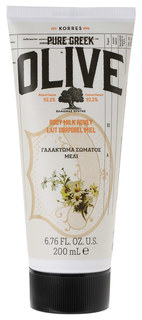 Молочко для тела Korres Pure Greek Olive Body Milk Honey 200 мл