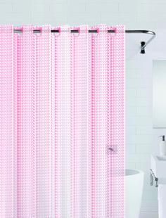 Штора для ванны 3D (розовый) 180*200 Bath Plus
