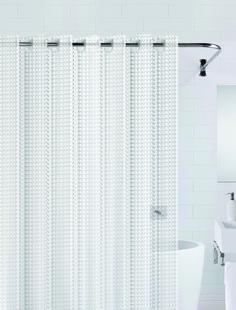 Штора для ванны 3D (прозрачный) 180*200 Bath Plus