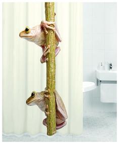 Штора для ванны TREE FROG (Лягушки) 180*200 Bath Plus