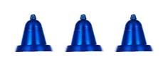 Snowmen Набор из 3 х елочных украшений колокольчик синий 13 см Snowmen ЕК0160