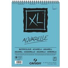 Canson Альбом на спирали для акварели CANSON XL, 300г/м2, 29.7х42см, Фин, 30 листов