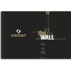 Canson Альбом на спирал для маркера CANSON The Wall, 220г/м2, 29.7х43.7см, 30 листов