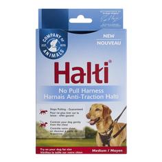 Шлейка для собак COA HALTI No Pull, препятствующая натяжению, size M Company of Animals