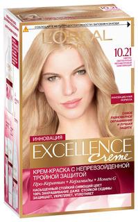 Краска для волос LOreal Paris Recital Preference 10.21 Светло-русый 1 шт