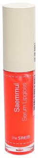 Блеск для губ The Saem Saemmul Serum Lipgloss CR01 4,5 гр