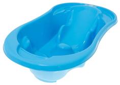 Ванночка для купания Tega Baby Комфорт 96 см с отливом и термометром синий