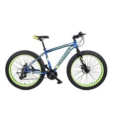 Велосипед 26 Hogger Fat Bike AL MD Yellow/Blue, 20