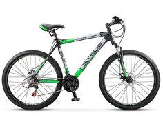 Велосипед Stels Navigator 600 V 26 (2016) Серый/Серебристый/Зеленый , 17