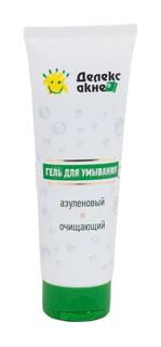 Гель для умывания Делекс-акне очищающий азуленовый 125 мл No Brand