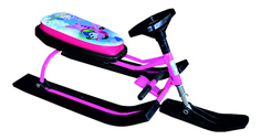Снегокат детский одноместный Барс 120 Sky Pink Bars
