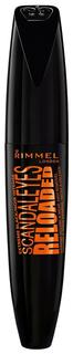 Тушь для ресниц Rimmel Scandaleyes Re-Loaded Extreme Black 12 мл