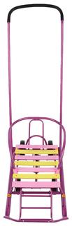Санки детские Galaxy Мишутка 1 Универсал Фиолетовый